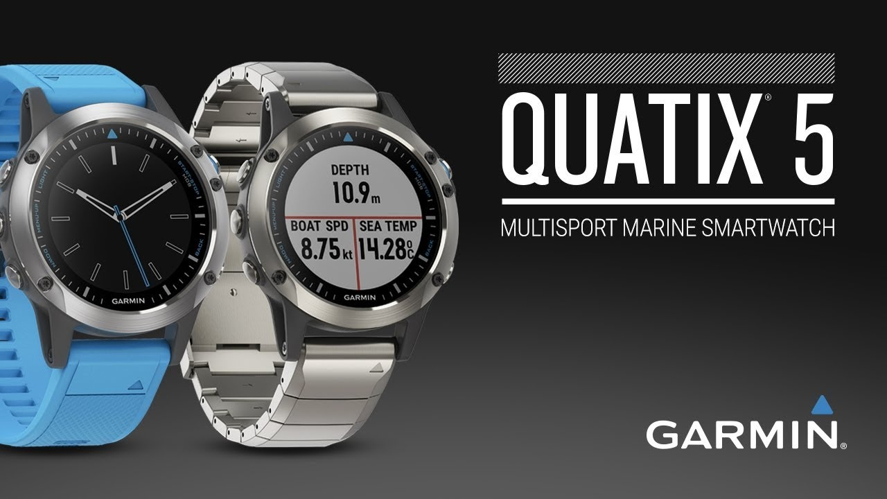 garmin quatix 5 meilleure montre gps marine
