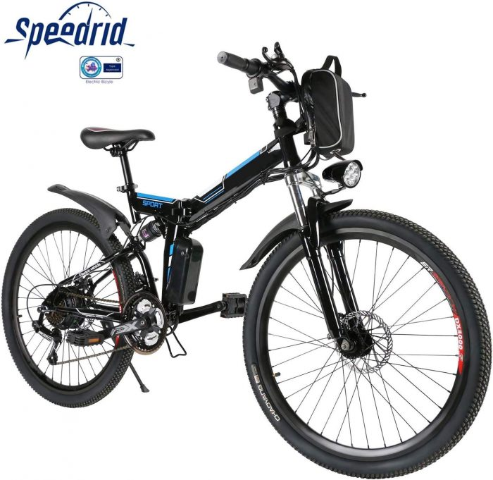 velo de ville electrique Speedrid ANEB003 pliant prix promo