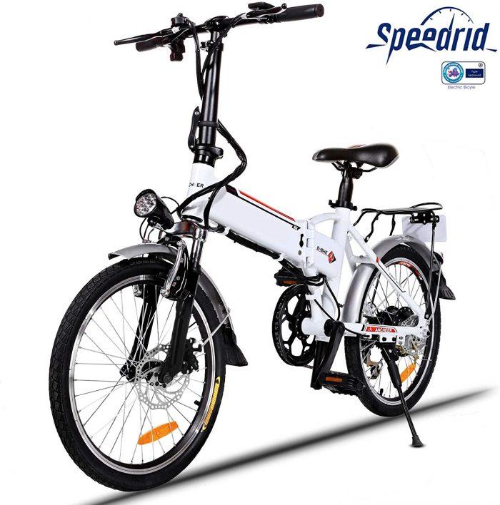 velo electrique de ville pliant Speedrid ANEB004 prix promo